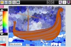 Viking-ship-structure